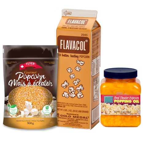 Popcorn Essentials Trio