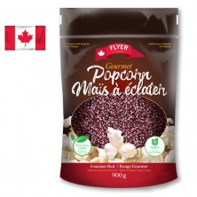 Gourmet Red Hulless Popcorn Kernels