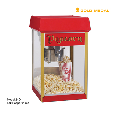 Gold Medal 2404 Fun Pop 4oz Popper - Red
