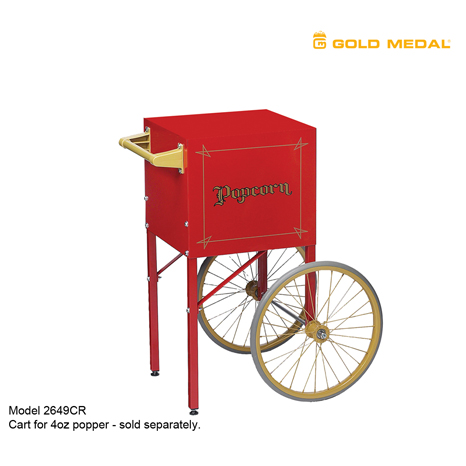 Gold Medal Cart for 2404 Popper