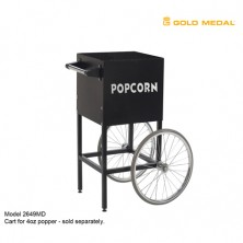 Gold Medal Cart for 2404MD Popper - Black