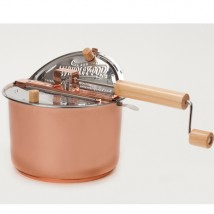 Copper Plated Stainless Steel Whirley Pop