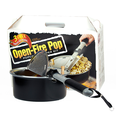 Open-Fire Popcorn Popper