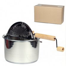 Stainless Steel Whirley Pop